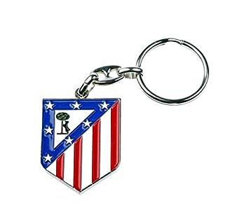 Llavero Oficial Atlético de Madrid, Escudo: Amazon.es ...