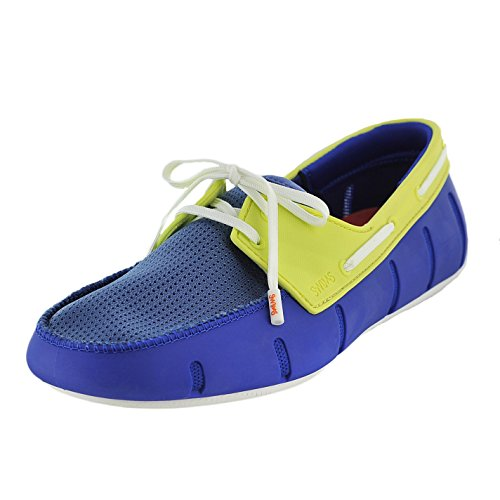 SWIMS Mens Sport Loafers Blue UvK4H