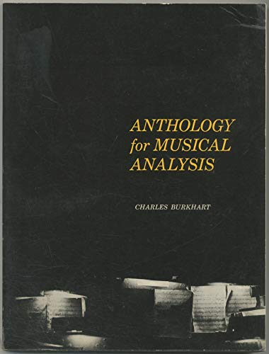 Anthology of Musical Analysis