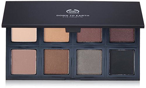 The Body Shop Down To Earth Eyeshadow Palette, 0.56 Oz Vegan