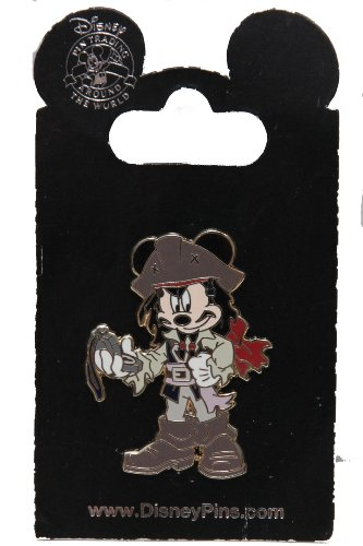 Disney Pin #67651: Pirates of the Caribbean - Mickey as Jack (Caribbean Disney Pin)