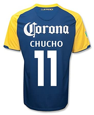 best service 94194 df939 CHUCHO #11 Club America Away Jersey (M): Amazon.co.uk ...