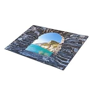 eye-top Ocean Monogrammed Door Mat Nautical Custom Door Mat