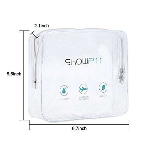 Showpin Silicone Travel Bottles Set for Men Leak Proof Travel Toiletry Bottles FDA Certificated TSA Approved BPA Free Protable Travel Containers for Shampoo/Liquids/Cosmetic,4 Pack,3oz by Showpin (Image #7)