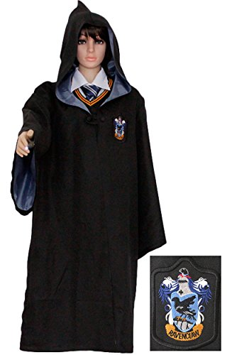 Pulle-A Harry Potter Youth Adult Hogwarts School Costume Robe Cloak R S (Halloween Costumes International Shipping)