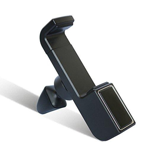 BSGSH Soporte de coche para teléfono móvil, soporte universal de rejilla de ventilación para smartphones, mini tabletas y dispositivos GPS - rotación de 360 ...