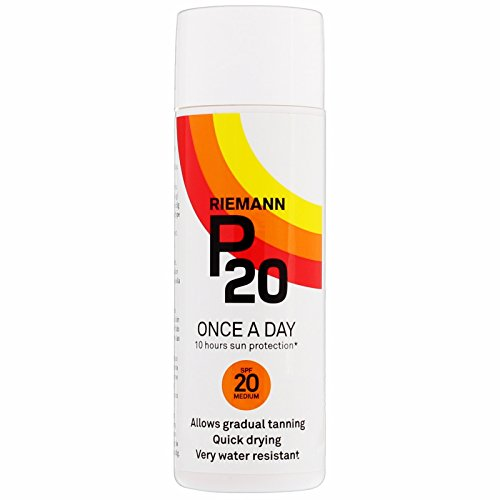 Price comparison product image Riemann P20 Once a Day 10 Hours Sun Protection - SPF20 Medium (100ml)