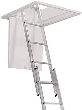 Zarges aluminio escalera para desván zar101399 2 parte: Amazon.es: Iluminación