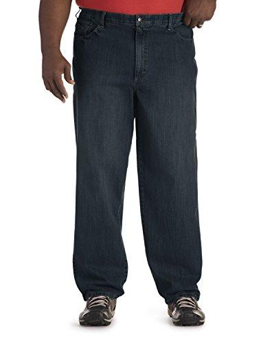 Lee Men's Big-Tall Premium Select Loose Comfort Waist Jean, Vandal, 50x32