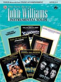 The Very Best of John Williams for Strings - Violin - Level 2-3 - Bk+CD