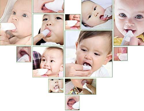 41OktJNMOOL. AC - Zmmyr 120Pcs Baby Teeth Soft Gauze Finger Clean Oral Hygiene Tongue Milk Stain Cleaning For 0-2 Years Old