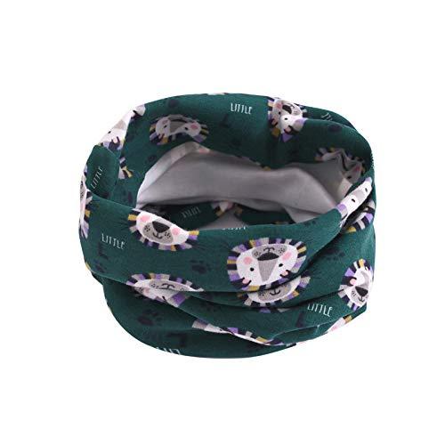 ☆ Bufanda para el Cuello para bebé Estampada, Niñas niños pequeños Bufanda Animal Espesar Costura O-Ring Bufanda Cuello Calentador Absolute: Amazon.es: ...