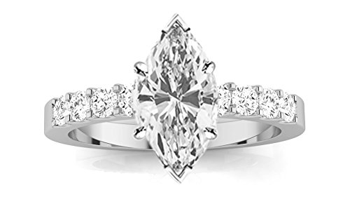 0.53 Ct Marquise Diamond - 2
