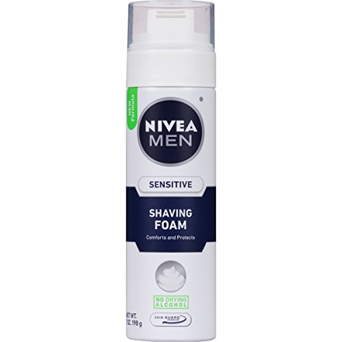 Nivea for Men Sensitive Shaving Foam, 7 Ounce