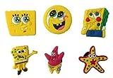 SpongeBob Shoe Charms 6 Pcs Set #1