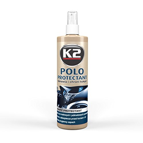 K2 Polo Cockpit Protectant Care Professional Dashboard Cleaner for Interior as Dashboard, Plastic, Trim, Rubber, (Rubber Dash Trim)