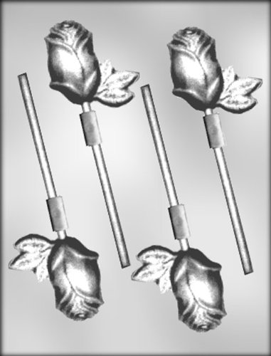 CK Products Long-Stemmed Roses Sucker Chocolate Mold ()