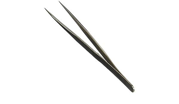 Manual de la herramienta eDealMax tono de plata en punta de las pinzas de punta Recta AB-11, 5, 5 - - Amazon.com