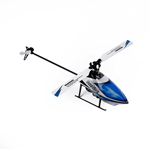 RC Helicopter, Advanced WLtoys V977 Remote Control Helicopters with 2.4 GHz 6 Channels 3-Axis & 6-Axis Gyroscope(Blue)