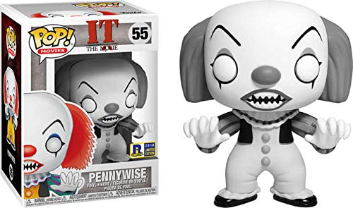 2018 Rhode Island Comic Con Exclusive Black & White Pennywise Pop
