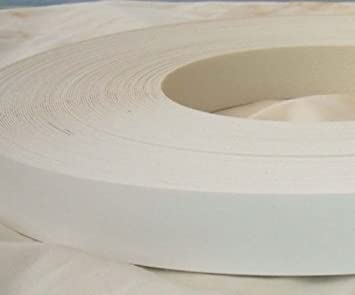 Pre Glued Iron on White Melamine Edging Tape 19mm wide ...Free Postage (5 metres) Melamine edging 19mm wide