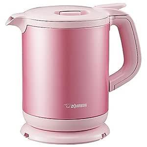 Zojirushi electric kettle (0.8L) Pink CK-AH08-PA by Zojirushi