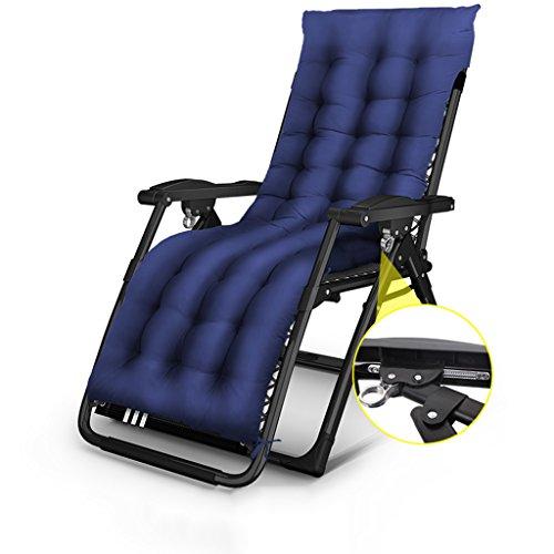 Folding Siesta Lounge (Folding Chair Summer Siesta Lounge Chair Office Portable Beach Chair Leisure Chair Pregnant Women Chair Napping Chair (Color : 14))