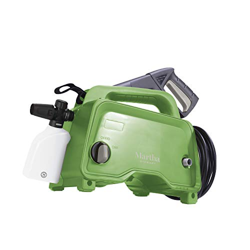 Martha Stewart 1450 MAX PSI 1.48 GPM 11-Amp Electric Hand-Carry Portable Pressure Washer, Bay Leaf Green