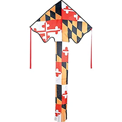 Large Easy Flyer Kite - Maryland Flag: Sports & Outdoors