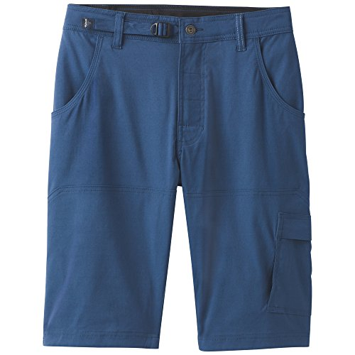 prAna Stretch zion Shorts, Equinox Blue, Size 34 (Rei Mens Shorts)
