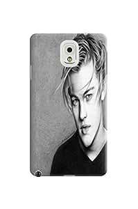 Cool Leonardo Dicaprio fashionable TPU Design Plastic Hard Case for Samsung Galaxy Note 3