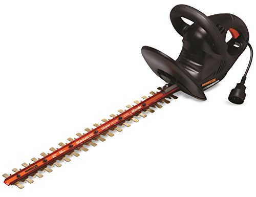Remington RM4522TH 4.5-Amp 22-Inch Electric Hedge Trimmer With Titanium Blades For Sale