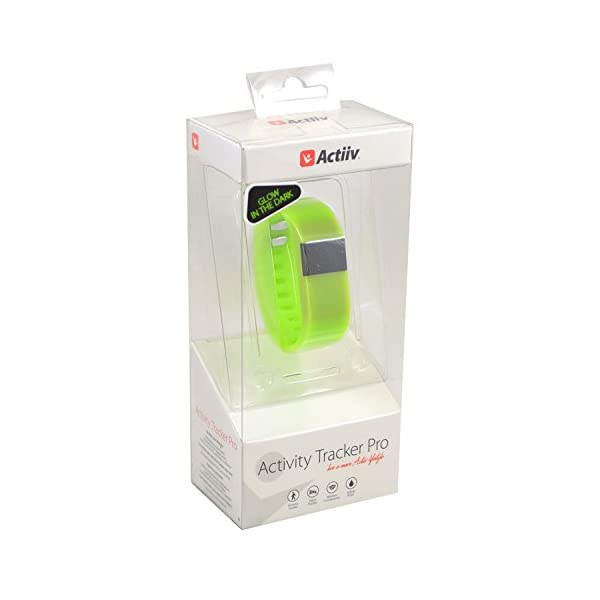 [category] Zenixx 815416020531 Glow in The Dark Activity Tracker Pro, Green