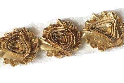 Rosette Chiffon (PoshNPretty 15 pieces 2.5