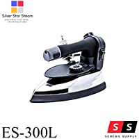 Silver Star STEAM 1300W 220V Electric Steam Iron ES-300L with 4.0 L.Water Tank