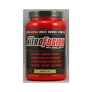 Naturade: Nitro Fusion Nitrofusion Vanilla, 2 lb