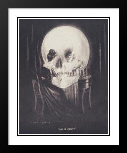 C Allan Gilbert Framed and Double Matted Art Print 20x23