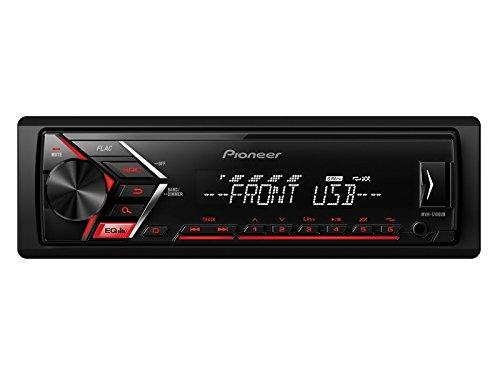Pioneer Radio MVHS100UB 1 DIN Tuner USB mit Einbauset fü r Ford Fiesta (JAS/JBS) 1995-2001 EHO MVHS100UB+RB1EHO156