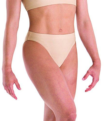 Motionwear Gymnastics Underwears Brief, Nude, Large - Gymnastics Briefs