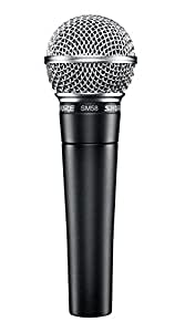 Shure SM58-LC Cardioid Dynamic Vocal Microphone