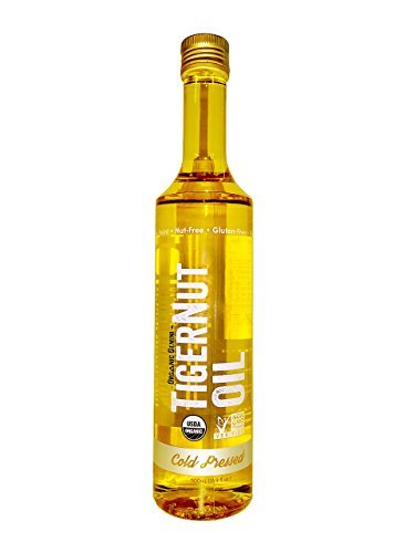 Organic Gemini Cold Pressed Tigernut Oil - Case of 12 - 500 ml, United States, 12 Count by Organic Gemini