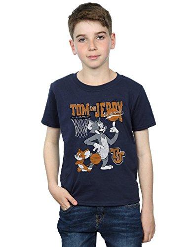 Absolute Spinning T shirt Marin Tom And Cult Jerry Basketball Garçon Bleu XqX0rwx