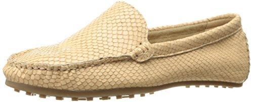 Aerosoles Women's Over Drive Slip-On Loafer, Light Tan Snake, 5 M US