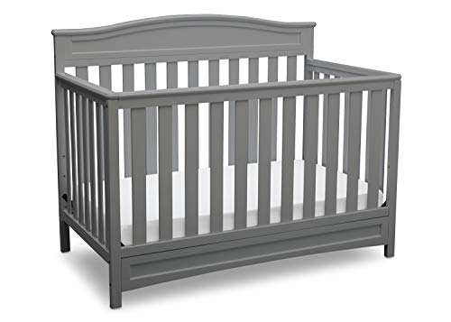 Delta Children Emery 4in1 Convertible Baby Crib Grey