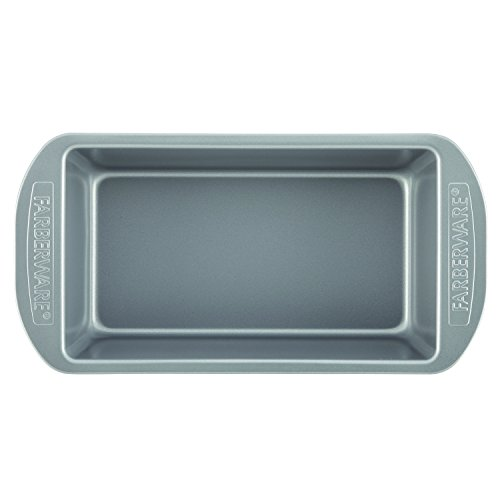 Farberware Nonstick Bakeware Bread and Meat Loaf Pan Set, 2-Piece, Gray by Farberware (Image #2)