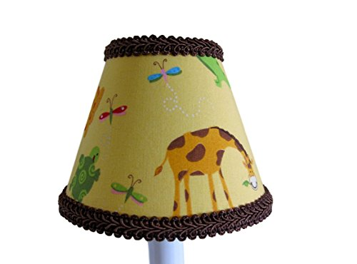 Silly Bear Lighting Animal Friends Chandelier Shade, Yellow by Silly Bear Lighting