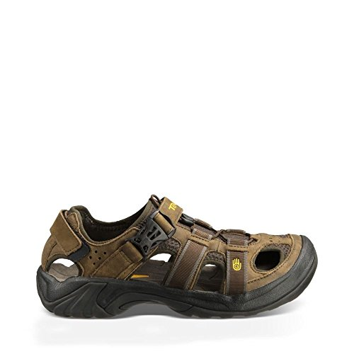 Teva Men's Omnium Sandal,Brown,11 M US