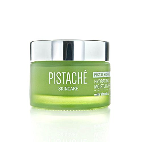 Pistaché Skincare Hydrating Face Moisturizer with Vitamin E - Made with Natural and Organic Ingredients (Single)