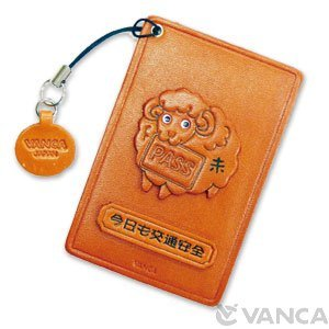 Amazon com : Zodiac/Sheep Leather Animal Pass/ID/Credit/Card
