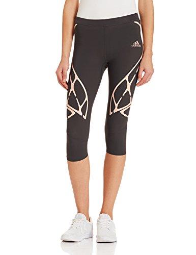 Adidas Adizero Sprintweb Three-Quarter Women's Tights - AW16 - Large - Black